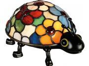 Quoizel Tiffany Accent Lamp Table Lamp Tiffany Lady Bug