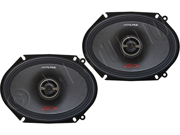 "Alpine SPR-68 6"" x 8"" 2-Way Car Speakers"