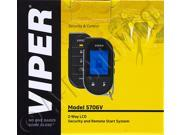 Viper 5706V 2-way Security System with Remote