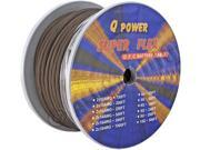 Q-Power 4G-100FT/BK 4GA Ground Cable Spool