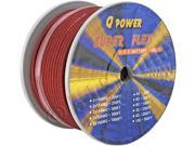 Q-Power 8G-250FT/RD 8GA Power Cable Spool