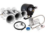 Vixen Horns VXO8705/3118 Full Train Air Horn System Kit