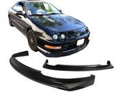 94-97 Acura Integra Dc2 R-1 Add-On Polyurethane Front Bumper Lip Spoiler Bodykit