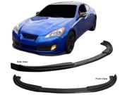 10-12 Hyundai Genesis Coupe Sport Carbon Fiber Front Bumper Lip Spoiler
