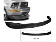 05-09 Ford Mustang V6 Cv Black Polyurethane Front Bumper Lip Spoiler Bodykit