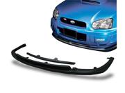 04-05 Subaru Impreza Wrx Sti Urethane Front Bumper Lip Spoiler