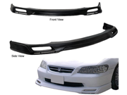 98-00 Honda Accord Sedan 4dr V-Type Pu Front Bumper Lip Spoiler