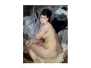 Nude Seated on a Sofa, 1876 Poster Print by Pierre-Auguste Renoir (18 x 24) 9SIA1S70FV5286