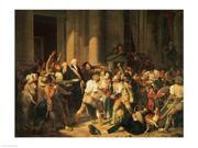 Act of Courage of Monsieur Defontenay, Mayor of Rouen Poster Print by Louis-Leopold Boilly (24 x 18)