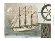 Sailing I Poster Print by Norman Wyatt Jr. (19 x 13) 9SIA1S70KE2265