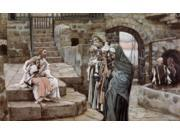 Jesus and the Little Child, James Tissot (1836-1902 French) Poster Print (18 x 24)