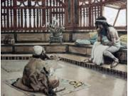 Joseph Converses With Judah, His Brother, James Tissot (1836-1902 French), Jewish Museum, New York, USA Poster Print (18