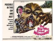 Boy Who Cried Werewolf Movie Poster (11 x 17) 9SIA1S73P18889