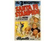 Santa Fe Stampede Movie Poster (27 x 40) 9SIA1S73PE3312