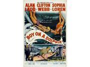 Boy on a Dolphin Movie Poster (27 x 40) 9SIA1S73PZ7626