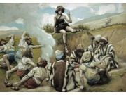 Joseph Reveals his Dream to his Brethren , James J. Tissot (1836-1902 / French), Jewish Museum, New York Poster Print