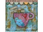 Morning Cup of Love Poster Print by Denise Braun (24 x 24) 9SIA1S740D5737