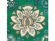 Persian Emerald I Poster Print by Lanie Loreth (12 x 12)