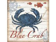 Blue Crab Poster Print by Todd Williams (24 x 24) 9SIA1S740R1234