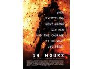 13 Hours The Secret Soldiers of Benghazi Movie Poster (27 x 40) 9SIA1S745K4020