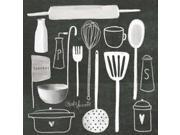 Kitchen Utensils Poster Print by Katie Doucette (12 x 12)
