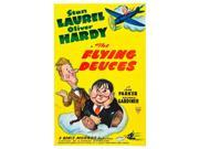 The Flying Deuces L-R: Stan Laurel Oliver Hardy On Poster Art 1939. Movie Poster Masterprint (11 x 17) 9SIA1S74AM2432