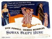 Susan Slept Here Anne Francis Debbie Reynolds Dick Powell 1954 Movie Poster Masterprint (14 x 11) 9SIA1S74AM2021