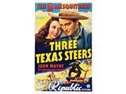 Three Texas Steers Us Poster Art Top From Left: Carole Landis John Wayne 1939. Movie Poster Masterprint (11 x 17) 9SIA1S74AV2086