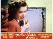 The File On Thelma Jordon Barbara Stanwyck 1950 Movie Poster Masterprint (14 x 11) 9SIA1S74AW6377