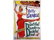 The Beautiful Blonde from Bashful Bend Movie Poster (27 x 40) 9SIA1S73PG2257