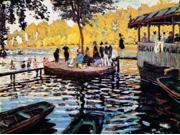 La Grenouillere The Frog Pond 1869 Poster Print by Claude Monet (18 x 24)