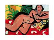 Nude With Palms, 1936 Poster Print by Henri Matisse (28 x 20) 9SIA1S725Y7238