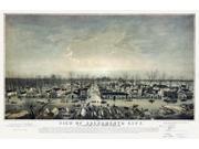 Historic Map of Sacramento California 1850 Sacramento County Poster Print (24 x 36) 9SIA1S74RP0890