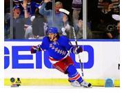 Carl Hagelin of the New York Rangers celebrates after scoring a goal in the first period during Game Four of the Eastern Conference Final in the 2014 NHL Stanle 9SIA1S75D63716
