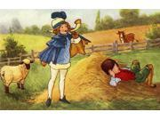 Little Boy Blue Come Blow Your Horn Poster Print By Mary Evans Picture LibraryPeter & Dawn Cope Collection (24 X 18) 9SIA1S75NF0503