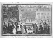 Baptism 1790 NMode Of Baptism Practised At Rhineburg In Germany Copper Engraving English 1790 Poster Print by  (18 x 24)