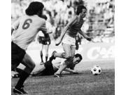 Johan Cruyff (1947- ) Ndutch Soccer Player Cruyff Runs Through UruguayS Defense During The 1974 World Cup Held In West Germany Poster Print by  (18 x 24) 9SIA1S75RE4652