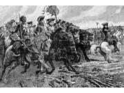 Battle Of Ramillies Nwar Of The Spanish Succession 1701-1713 John Churchill Duke Of Marlborough Leading A Cavalry Charge At The Battle Of Ramillies Belgium 1706 9SIA1S75RP0388