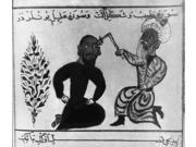 Cauterizing a Wound Persian Manuscript Poster Print by Science Source (24 x 18)