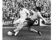 England Soccer Match 1972 Nsoccer Match Between Leeds United And Tottenham Hotpur During The Fa Cup 18 March 1972 Leeds Captain Billy Bremner Is Tackled By Cyri 9SIA1S75RD5745
