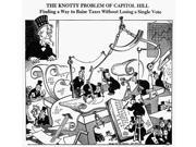 Cartoon World War Ii NThe Knotty Problem Of Capitol Hill Finding A Way To Raise Taxes Without Losing A Single Vote American Cartoon By Dr Seuss (Theodor Geisel)