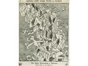 Cartoon Cubism 1913 NSeeing New York With A Cubist - The Rude Descending A Staircase (Rush Hour At The Subway) Cartoon From The Evening Sun 20 March 1913 Satiri 9SIA1S75VF3627