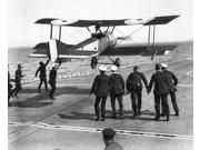 Hms Furious Landing 1917 Nsquadron Commander Edwin Harris Dunning Landing His Sopwith Pup Biplane On The Hms Furious The First Plane Ever To Be Landed On A Movi
