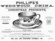 Tea Cup 1890 Nenglish Newspaper Advertisement For PhillipS Wedgwood China 1890 Poster Print by  (18 x 24) 9SIA1S75RD8318