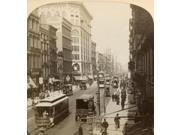 New York Broadway 1894 Nbroadway From The Metropolitan Hotel New York City Stereograph 1894 Poster Print by  (18 x 24)
