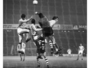 Cup Winners Cup 1969 Nspanish Soccer Goalkeeper Jos ?Ngel Iribar Of Bilbao Blocks An Attempted Goal By Manchester City During The European Cup Winners Cup 1 Oct 9SIA1S75RE0626