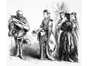LoveS LabourS Lost Nthe Princess Of France And Her Three Ladies (Act Ii Scene I) From William ShakespeareS LoveS LabourS Lost Wood Engraving 1881 After Sir John 9SIA1S75RK2185