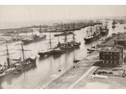 Suez Canal Port Said Nport Said Egypt The Entrance To The Suez Canal Photographed C1894 Poster Print by  (18 x 24)