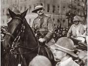 World War I Berlin C1918 Ngeneral Von Lettow Vorbeck Returning From East Africa In Berlin Germany Photograph C1918 Poster Print by  (18 x 24)
