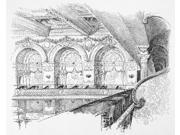 Madison Square Garden Ngallery Of The Concert Hall At The Second Incarnation Of Madison Square Garden (1890-1925) Designed By Stanford White Drawing 1893 Poster 9SIA1S75RF8951